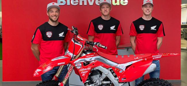 Van Berkel and Watson sign with SR Honda