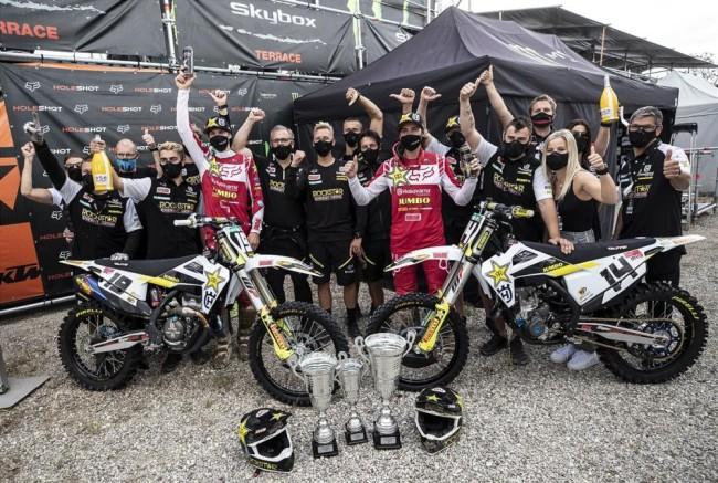 Beaton on his first GP moto win, Olsen on first GP win of the season!