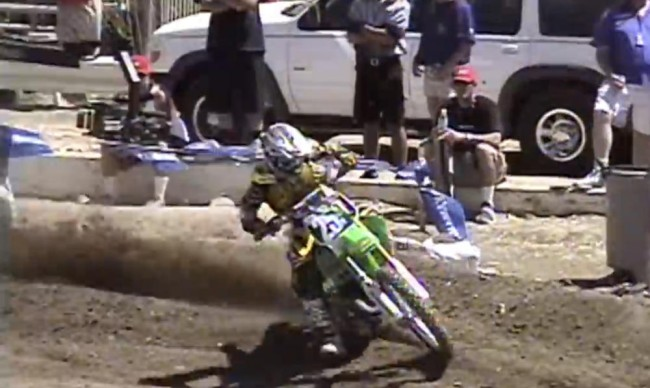 Video: James Stewart 2002 125 Glen Helen