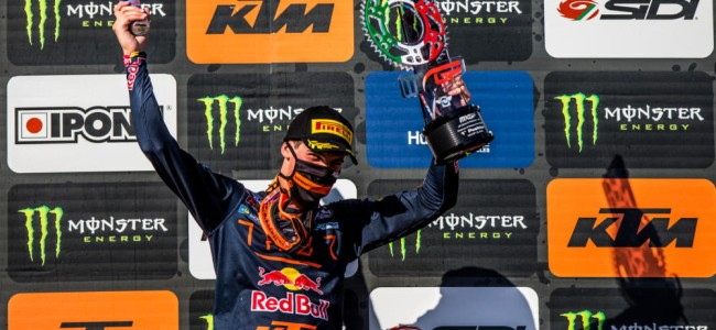 Prado on his first MXGP overall victory