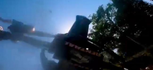 GoPro: Geerts nasty crash chasing Vialle at Faenza