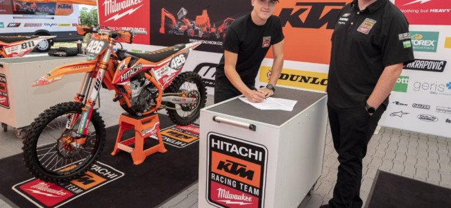 Conrad Mewse signs Hitachi KTM fuelled by Milwaukee contract extension!