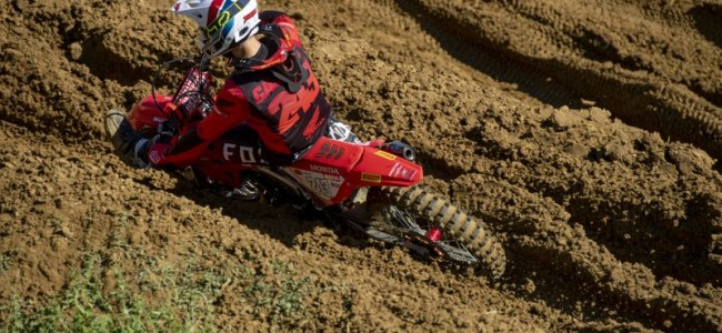 Gajser on a disappointing Faenza