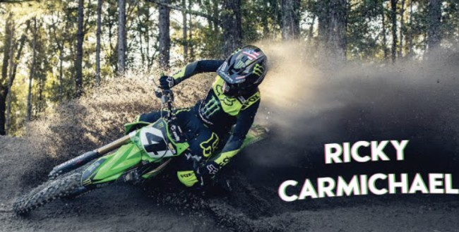 Video: Ricky Carmichael back on Kawasaki!