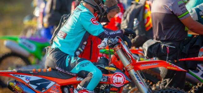 Baggett out for Pala MX National