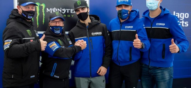 Thibault Benistant signs for Factory Yamaha