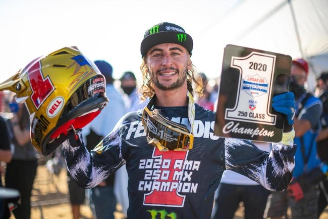 Ferrandis on winning the 250 motocross title, Jett Lawrence and not chasing the money