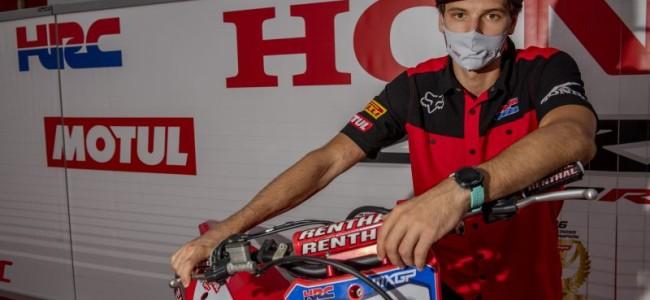 Mitch Evans – injured at Spanish GP
