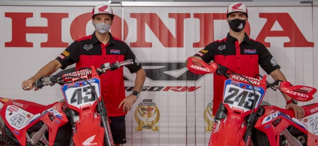 Official: HRC Honda renew Gajser and Evans contracts