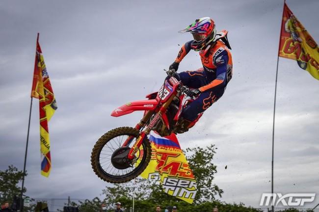 Race Report: Gajser strengthens grip on 2020 MXGP title in Lommel