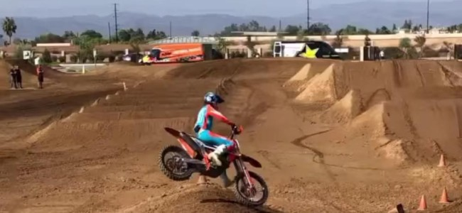 Video: Max Vohland supercross testing