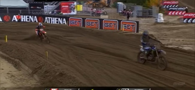 Video: Vialle and Watson battle for the win at Lommel