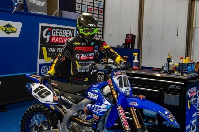 Vlaanderen injured – Gebben Van Venrooy Racing draft in replacement rider for Arco