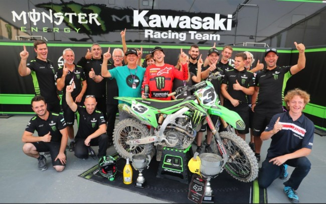 Febvre on his first MXGP victory with KRT
