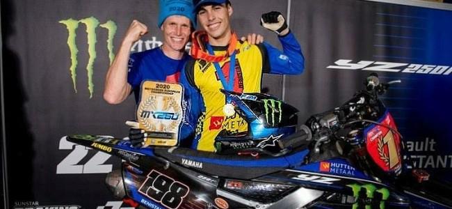 Interview: Herjan Brakke on Benistant's EMX250 title and the Hutten Metaal Yamaha team