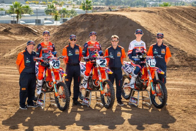 Confirmed: Red Bull Factory KTM 2021 AMA team – Vohland IN!