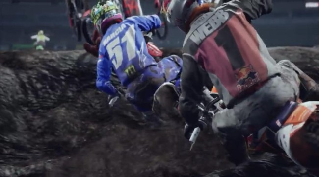 Monster Energy Supercross video game announced