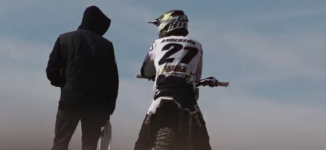 Video: Anderson preparing for supercross