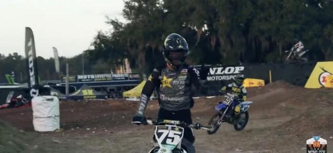 Video: Mini O's 125 SX moto – Deegan and Ferry