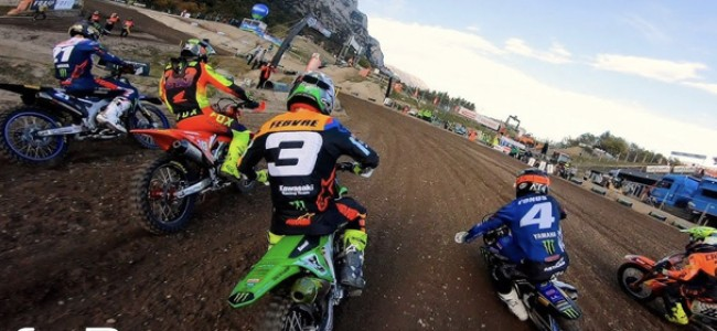 Seewer and Gajser GoPro footage from the final MXGP