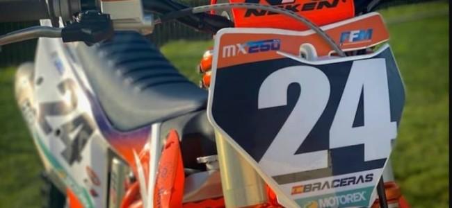 Confirmed: David Braceras secures EMX250 ride in 2021