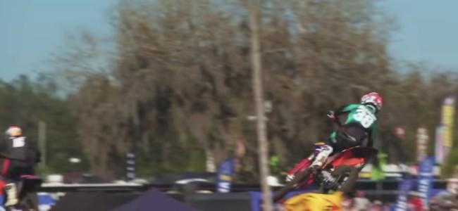 Video: Deegan's close finish at the Mini O's – 125s!