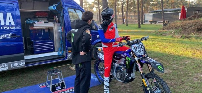 Coldenhoff back on the bike – first ride on the Factory Yamaha!