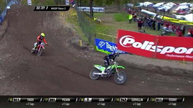 Video: Desalle and Cairoli battle for a moto win at Arco di Trento!