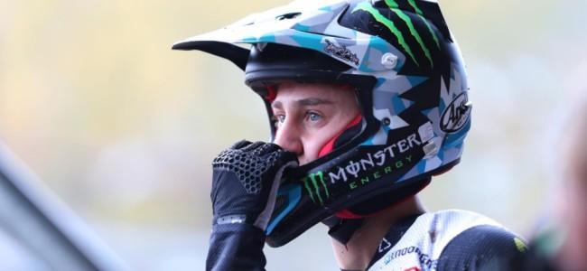 Roan van de Moosdijk update: Okay after big crash!