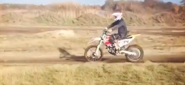 Video: Joel Roelants rides again after more than 3 years!