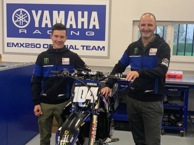 Interview: Jeremy Sydow on signing with Hutten Metaal Yamaha and racing EMX250 again!