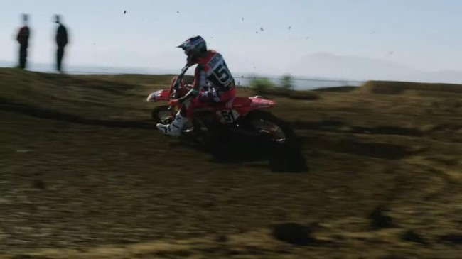 Video: First look at Justin Barcia on the GasGas