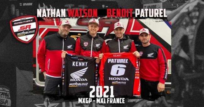Confirmed: SR Honda 2021 MXGP rider line up