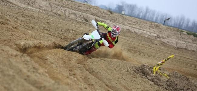 Luka Milec calls time on Motocross career