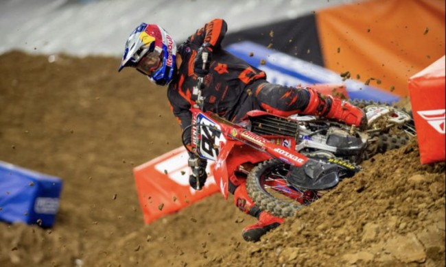 Supercross results still to be confirmed!