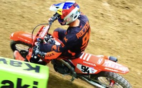 Video: Supercross press day action from Houston!