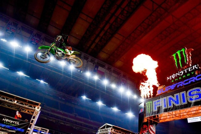Supercross results: Houston 2 – Tomac and Lawrence win!
