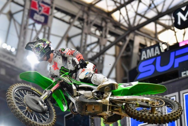 Cianciarulo out for the rest of 2021 Supercross season