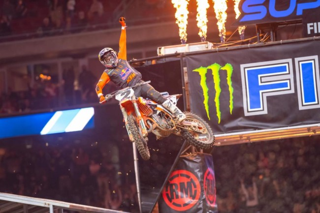 Cooper Webb on his first 450SX win of 2021 and his battle with Roczen