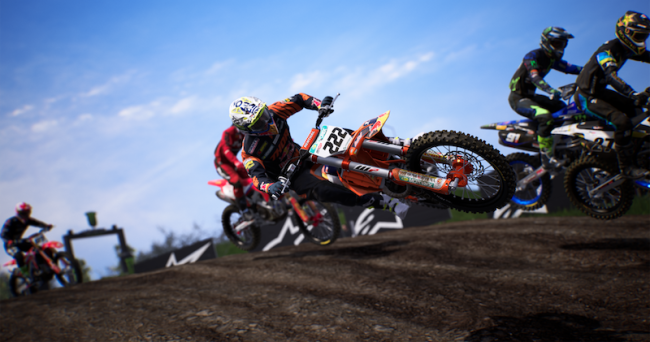 MXGP 2020 released on Playstation®5