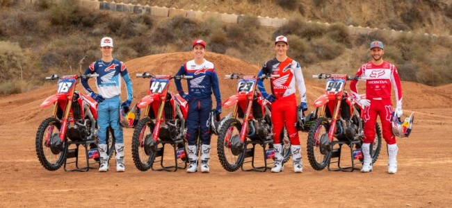American Honda presents Factory Supercross squad