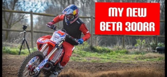 Video: Jonny Walker does Motocross on his new Beta 300RR