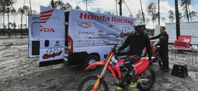 Interview: Joel Rizzi on signing with 114 Motorsports Honda and going MX2!