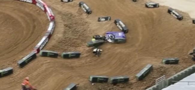 Video: Big Osborne press day crash
