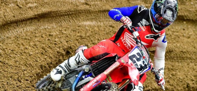 Injury update: Chase Sexton – OUT of Indianapolis 1
