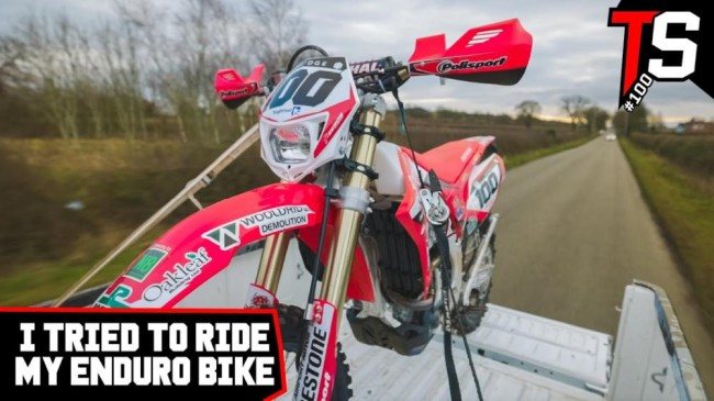 Video: Tommy Searle goes Enduro riding