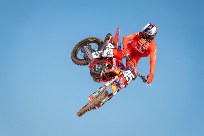 Video: Pierce Brown returns to the supercross track