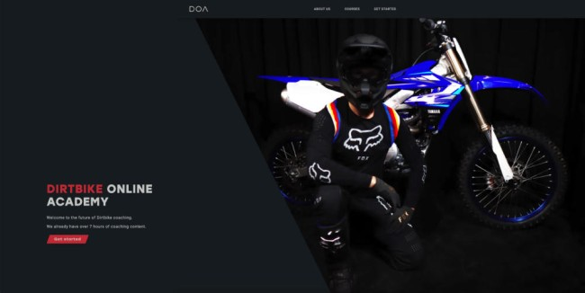 Dirtbike Online Academy launches