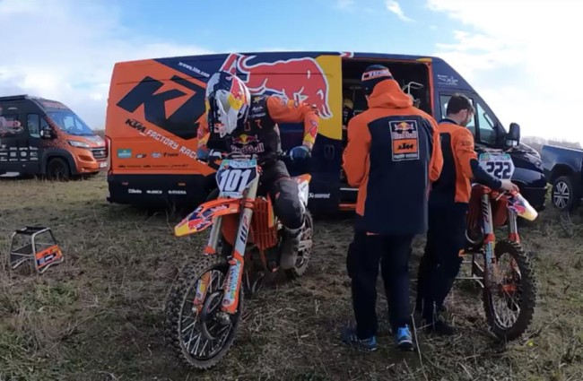 Video: Guadagnini riding with Cairoli and Prado