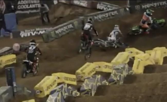 Video: Alex Martin crash and update